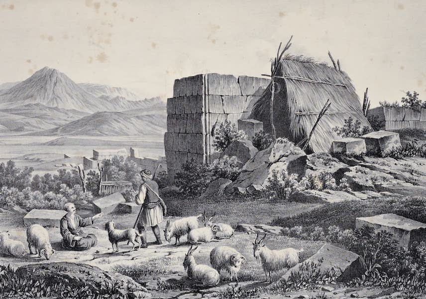 Views and descriptions of Cyclopian, or, Pelasgic remains - Ruins of Plataia in Boeotia (1834)