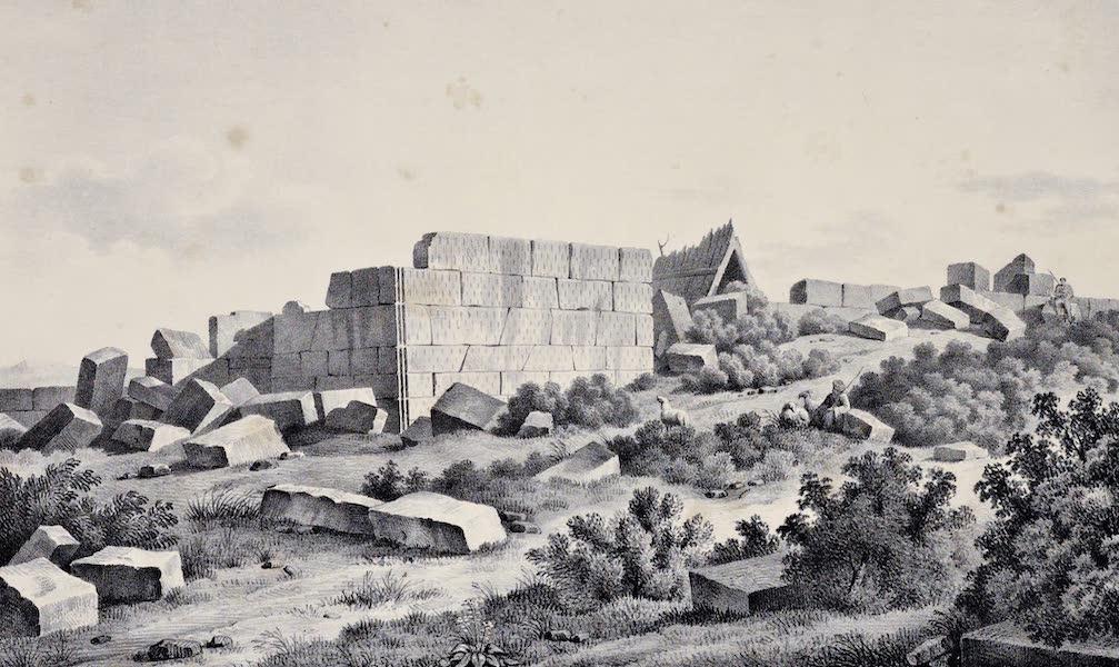 Views and descriptions of Cyclopian, or, Pelasgic remains - Ruins at Plataia (1834)