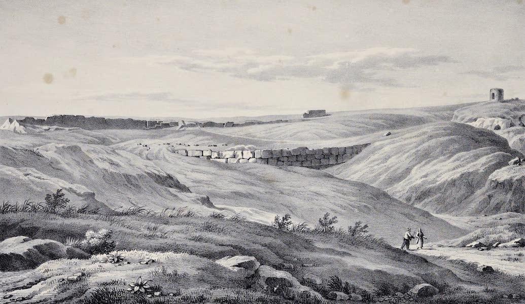 Views and descriptions of Cyclopian, or, Pelasgic remains - The Pynx at Athens (1834)