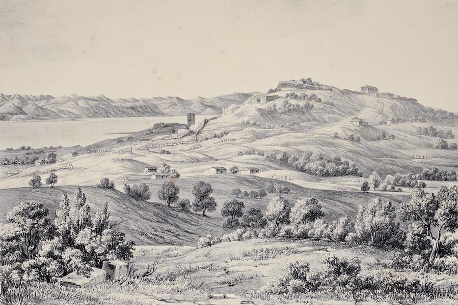 Views and descriptions of Cyclopian, or, Pelasgic remains - Ruins of Echinos in Thessaly (1834)