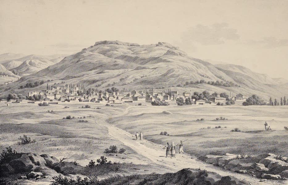 Views and descriptions of Cyclopian, or, Pelasgic remains - Acropolis of Pharsalia in Thessaly (1834)