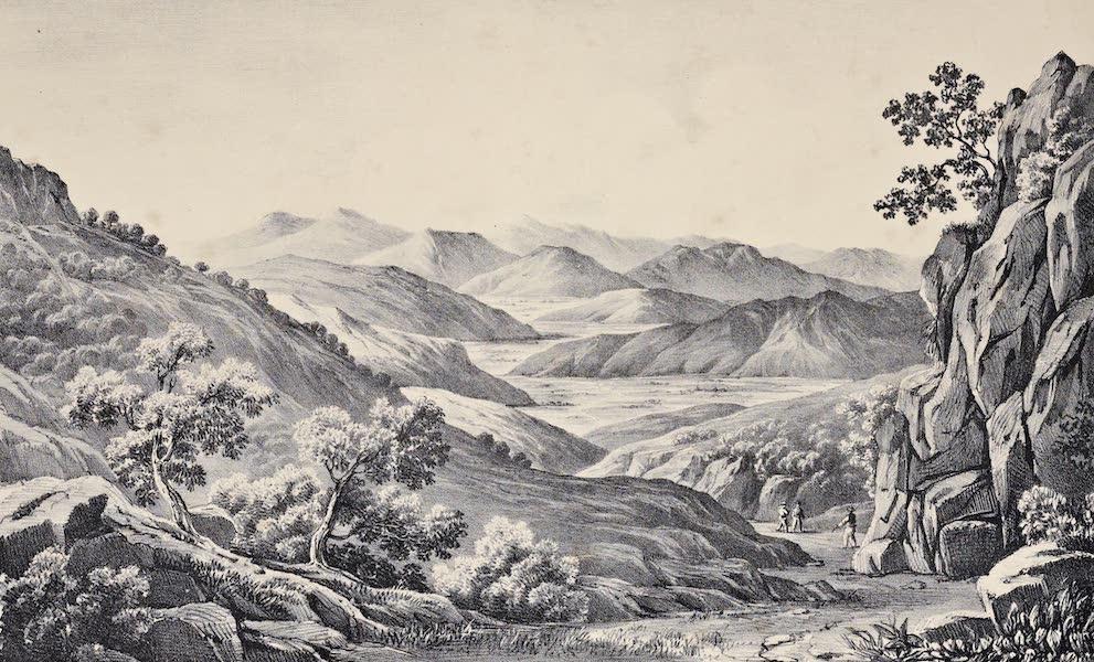 Views and descriptions of Cyclopian, or, Pelasgic remains - View of Orchomenos in Arcadia (1834)