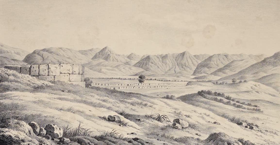 Views and descriptions of Cyclopian, or, Pelasgic remains - Ruins of Clitor in Arcadia (1834)
