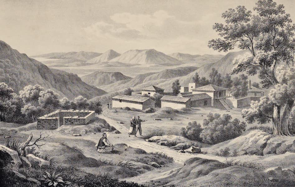 Views and descriptions of Cyclopian, or, Pelasgic remains - Gulf and Plain of Messenia (1834)