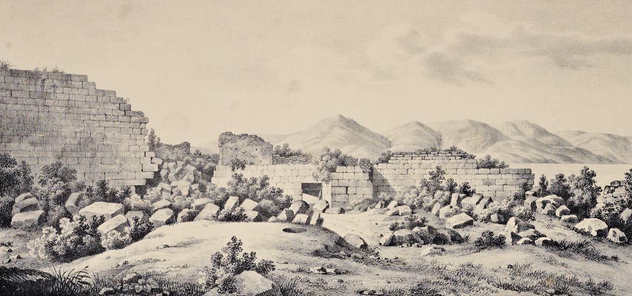 Views and descriptions of Cyclopian, or, Pelasgic remains - Ruins of Methana in Argolis (1834)