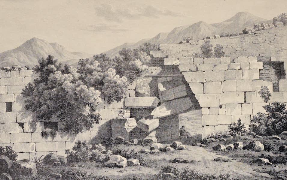 Views and descriptions of Cyclopian, or, Pelasgic remains - Ancient Gate of Methana (1834)