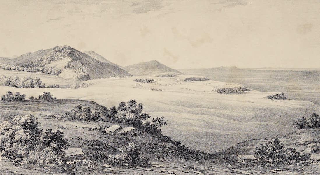 Views and descriptions of Cyclopian, or, Pelasgic remains - General View of Norba in Latium (1834)