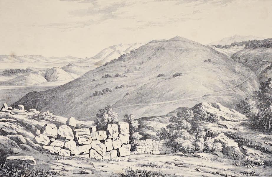 Views and descriptions of Cyclopian, or, Pelasgic remains - Acropolis of Signia (1834)
