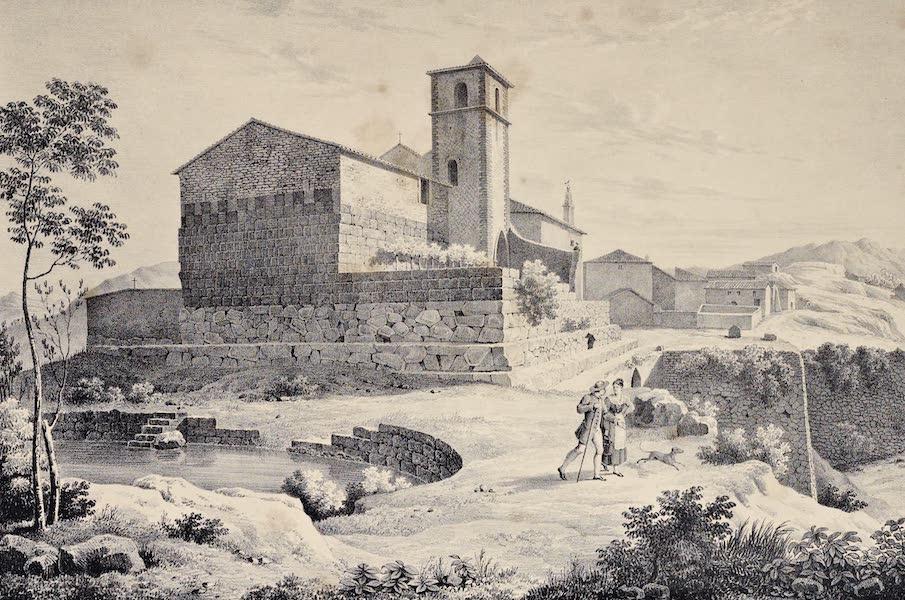 Views and descriptions of Cyclopian, or, Pelasgic remains - Remains of a Temple at Signia (1834)