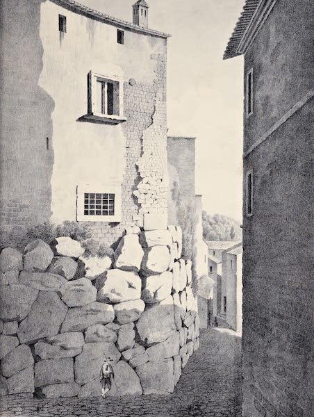 Views and descriptions of Cyclopian, or, Pelasgic remains - Walls at Cora [I] (1834)