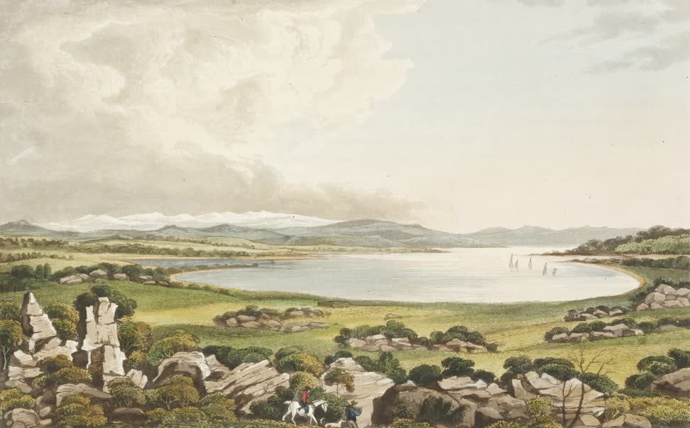 Views in Australia or New South Wales - Beaumont's Lake (1825)