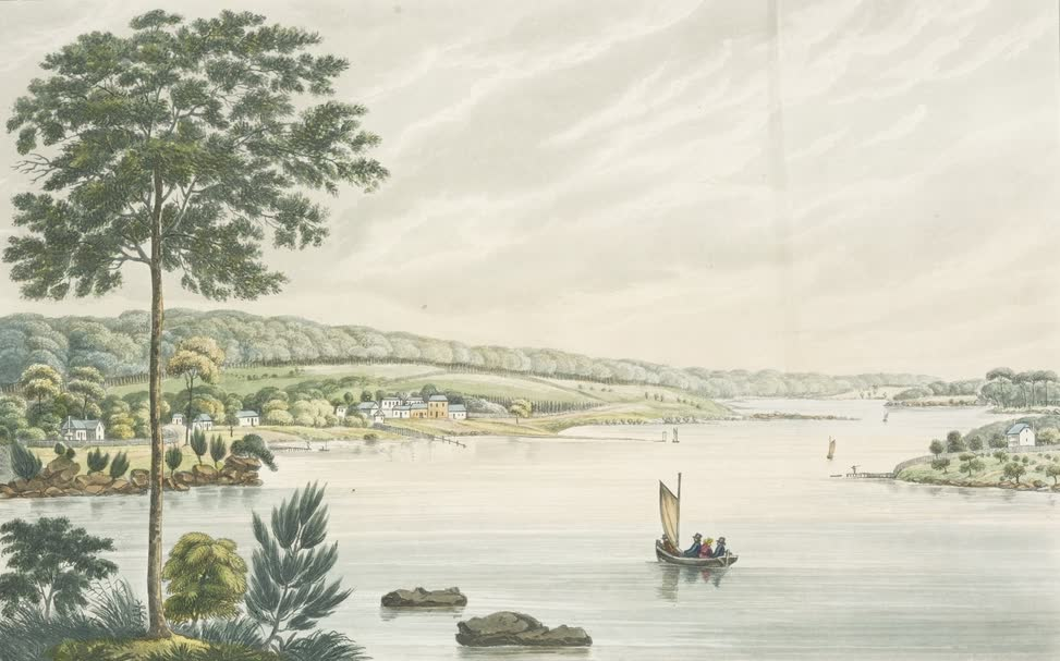 Views in Australia or New South Wales - Kissing Point, New South Wales (1825)