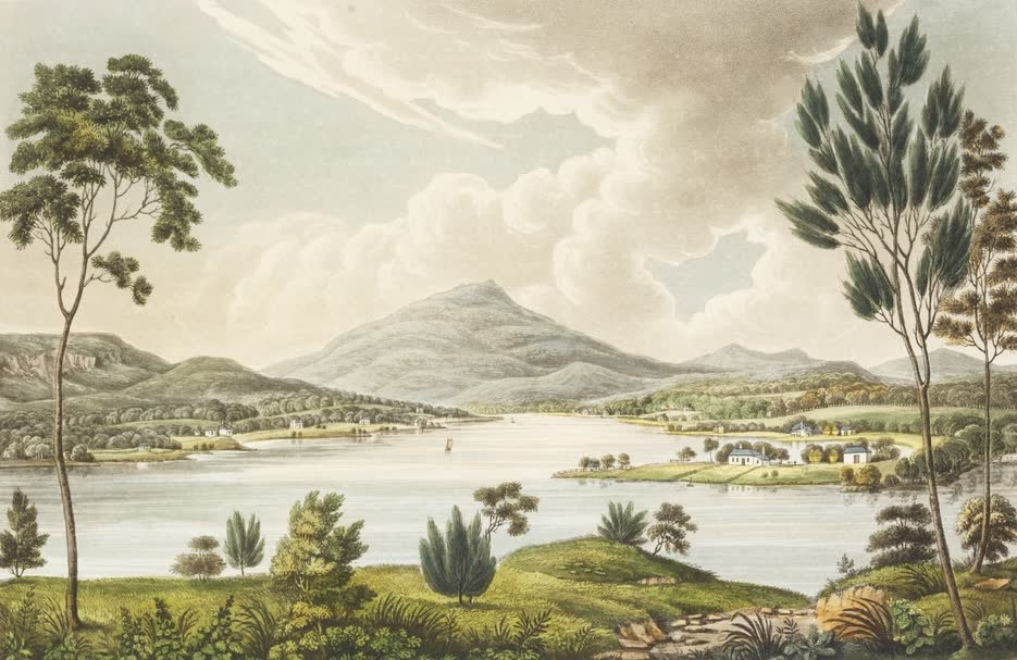 Views in Australia or New South Wales - Mount Dromedary (1825)