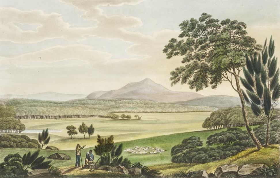 Views in Australia or New South Wales - View of Tasman's Peak (1825)