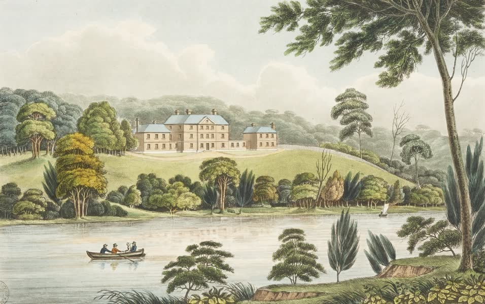 Views in Australia or New South Wales - View of the Female Orphan School (1825)