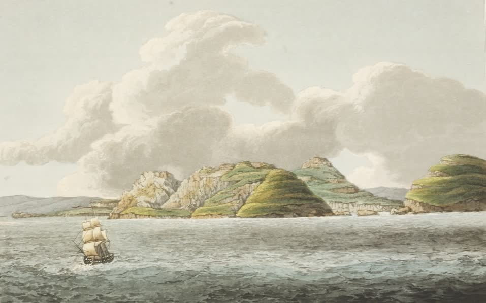 Views in Australia or New South Wales - View of the South End of Schouten's Island (1825)
