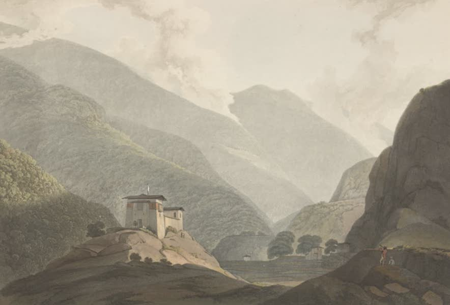 Views in Bootan - View of Choka (1813)