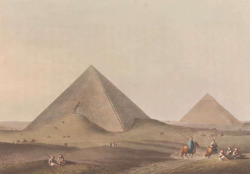 First and Second Pyramid of Gizah, Ancient Memphis