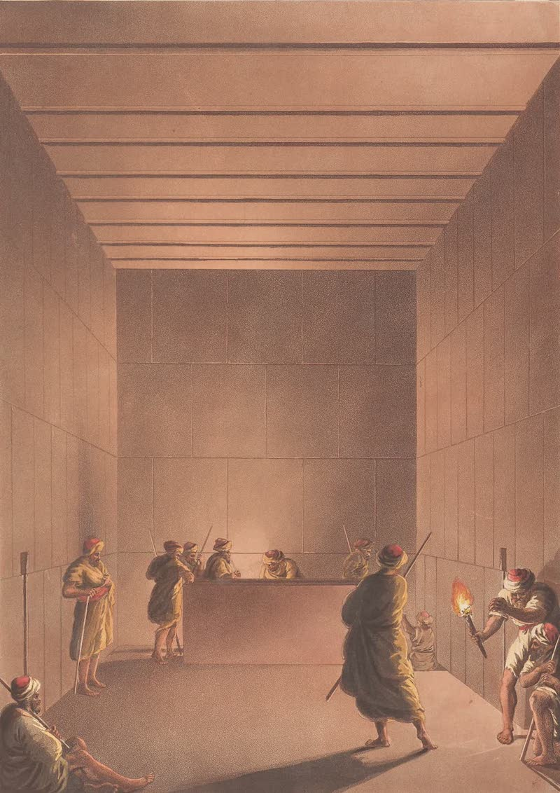 Chamber and Sarcophagus in the Great Pyramid of Gizah