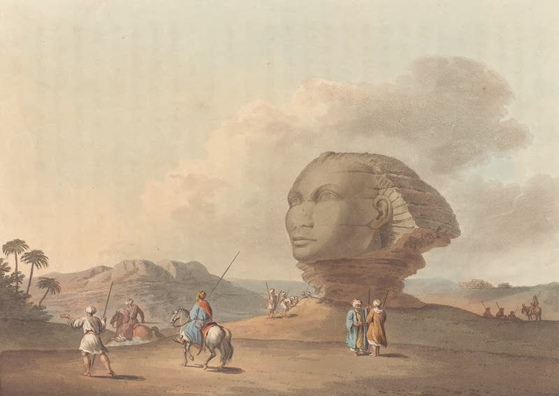 Head of the Colossal Sphinx
