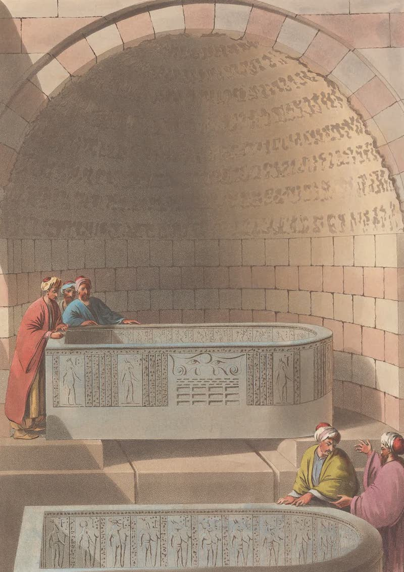 An Ancient Sarcophagus of Basaltes, called The Lovers Fountain
