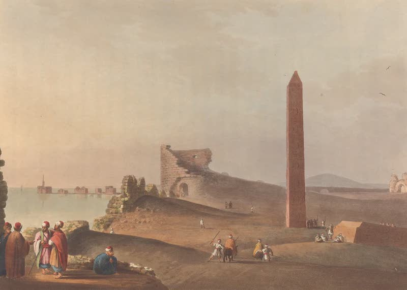 The Obelisk at Alexandria, called Cleopatra's Needles