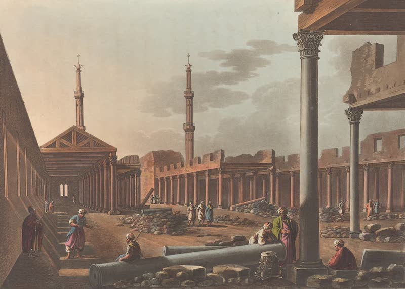 The Mosque of Four Hundred Pillars at Cairo