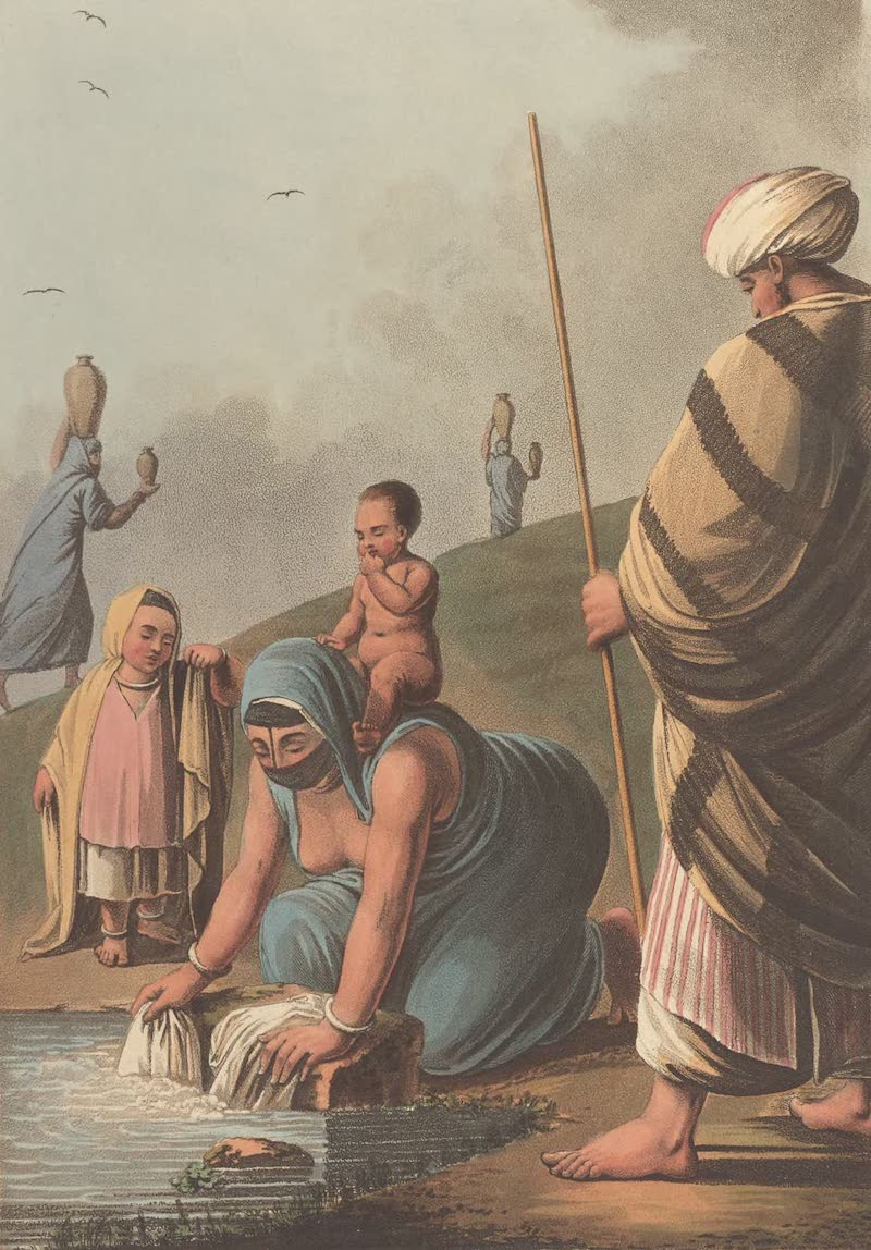 An Egyptian Peasant and Family