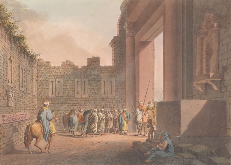 The Gate of Rosetta in Alexandria