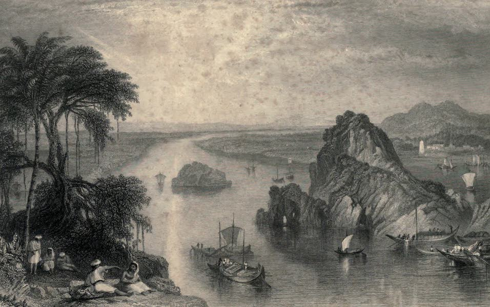 Views in India, chiefly among the Himalaya Mountains - Rocks at Colgong on the Ganges (1836)