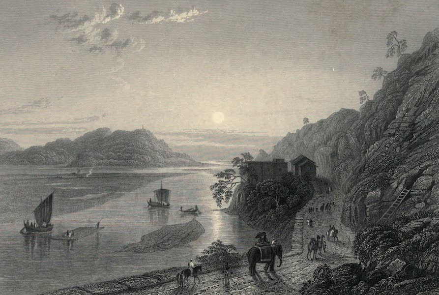 Views in India, chiefly among the Himalaya Mountains - The Ganges entering the Plains near Hurdwar (1836)