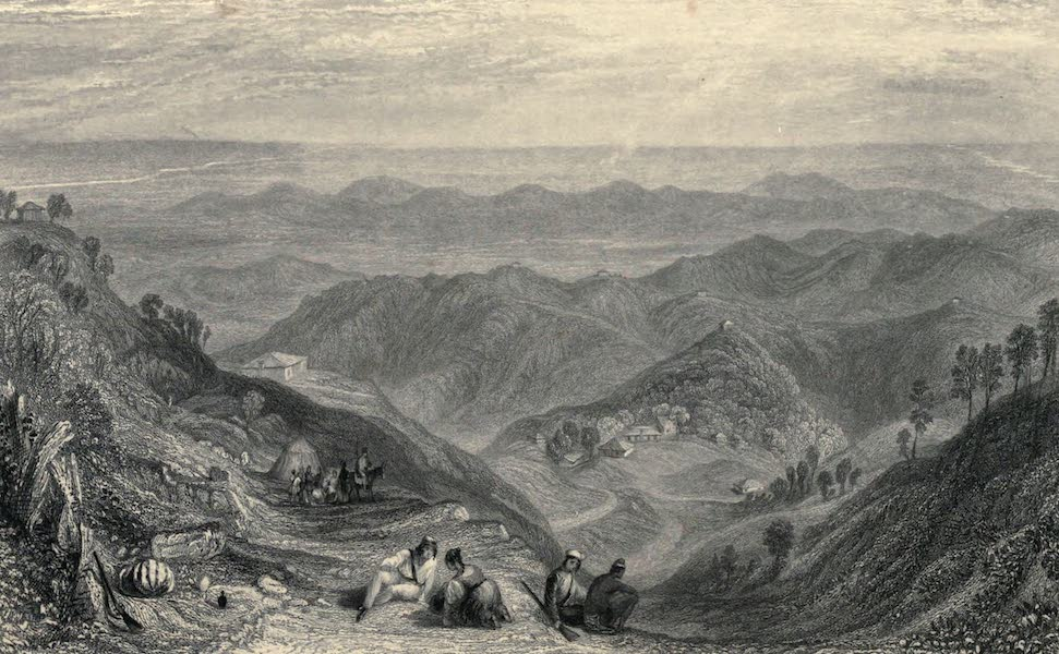 Views in India, chiefly among the Himalaya Mountains - Mussooree, from Landour (1836)