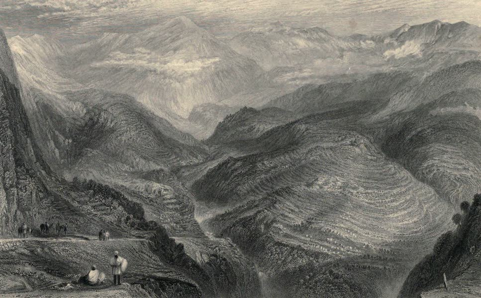 Views in India, chiefly among the Himalaya Mountains - View near Jubberah (1836)