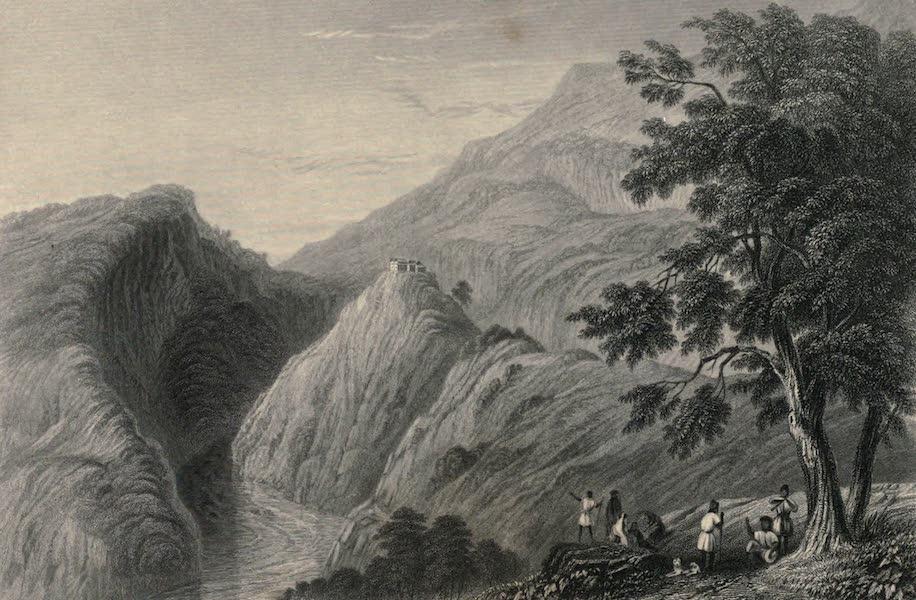Views in India, chiefly among the Himalaya Mountains - View near Kursalee (1836)