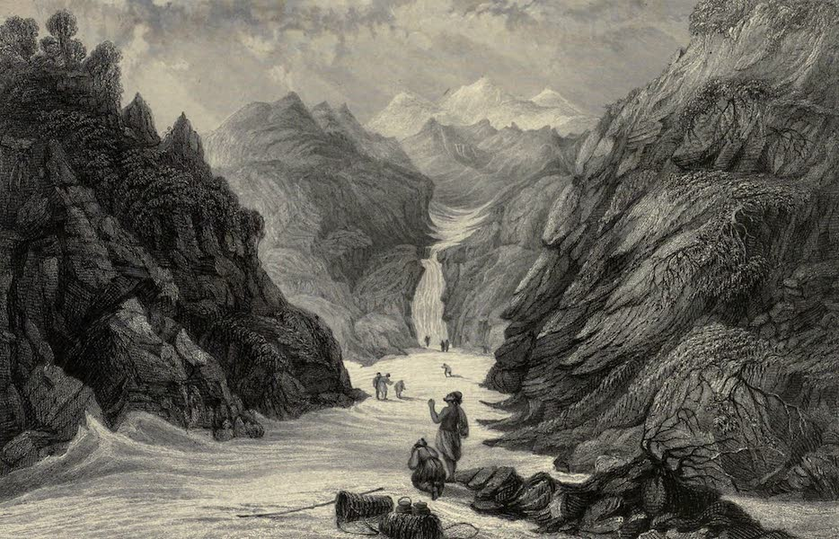 Views in India, chiefly among the Himalaya Mountains - Source of the Jumna (1836)