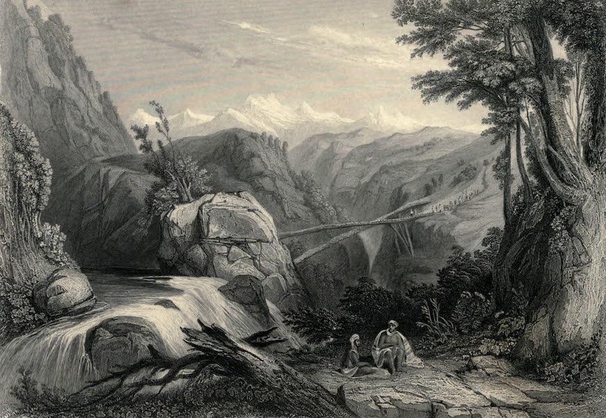 Views in India, chiefly among the Himalaya Mountains - View near Deobun (1836)