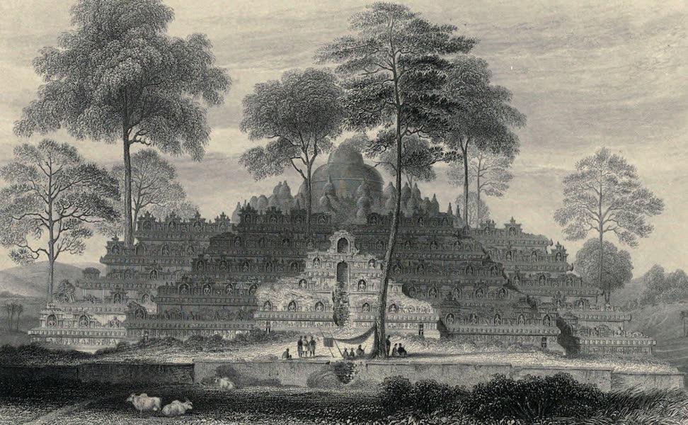 Views in India, chiefly among the Himalaya Mountains - Borro Boedoor (1836)