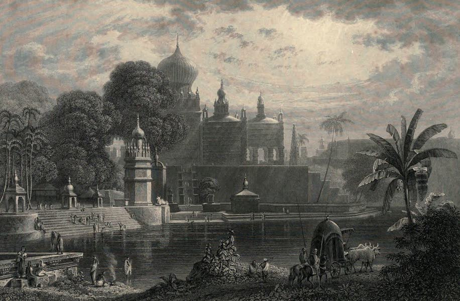 Views in India, chiefly among the Himalaya Mountains - View of Sassoor, in the Deccan (1836)