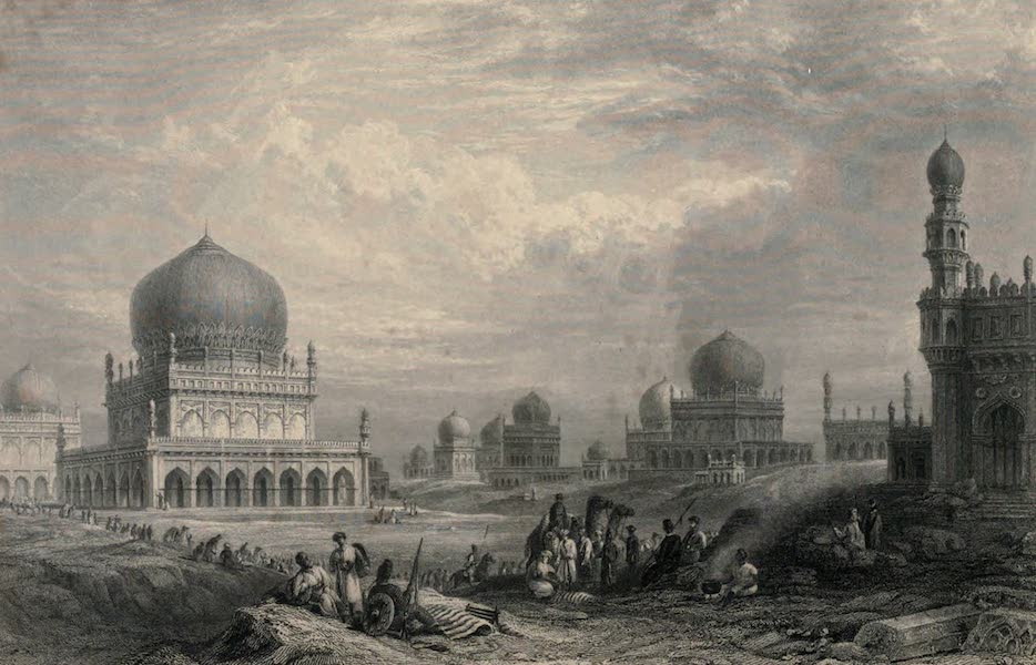 Views in India, chiefly among the Himalaya Mountains - Tombs of the Kings of Golconda (1836)