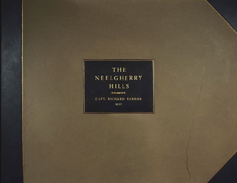 Views in India, Chiefly Among the Neelgherry Hills - Front Cover (1837)
