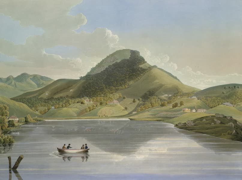 Views in India, Chiefly Among the Neelgherry Hills - Taken from the Bridge seen in [plate] 1. Looking at South Side of the Lake (1837)