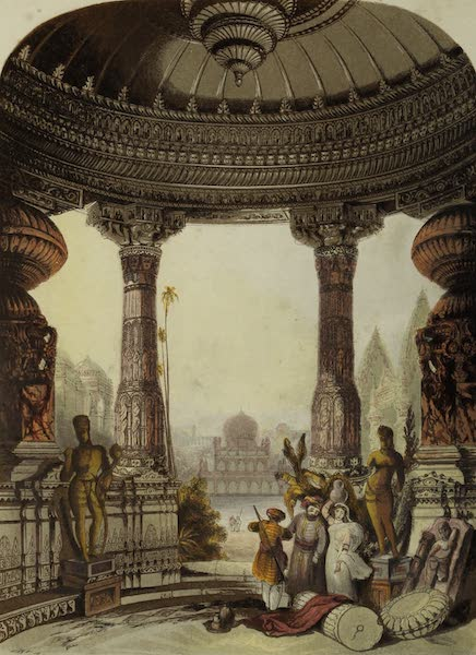 Views in India, China, and on the Shores of the Red Sea - Hindoo and Mahomedan Buildings (1835)