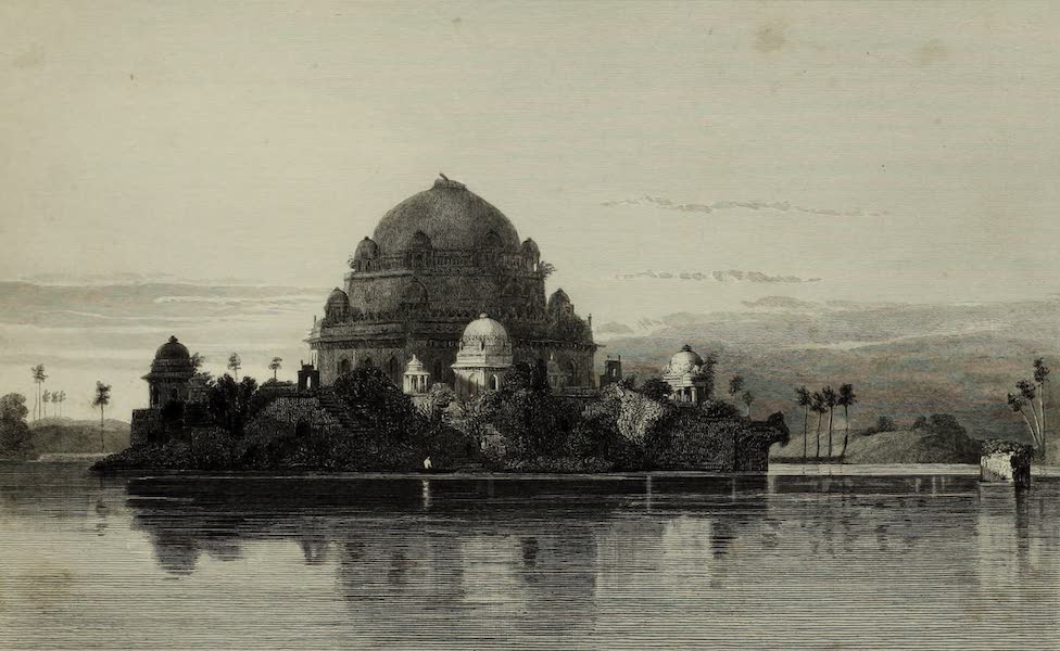 Views in India, China, and on the Shores of the Red Sea - Tomb of Shere Shah (1835)