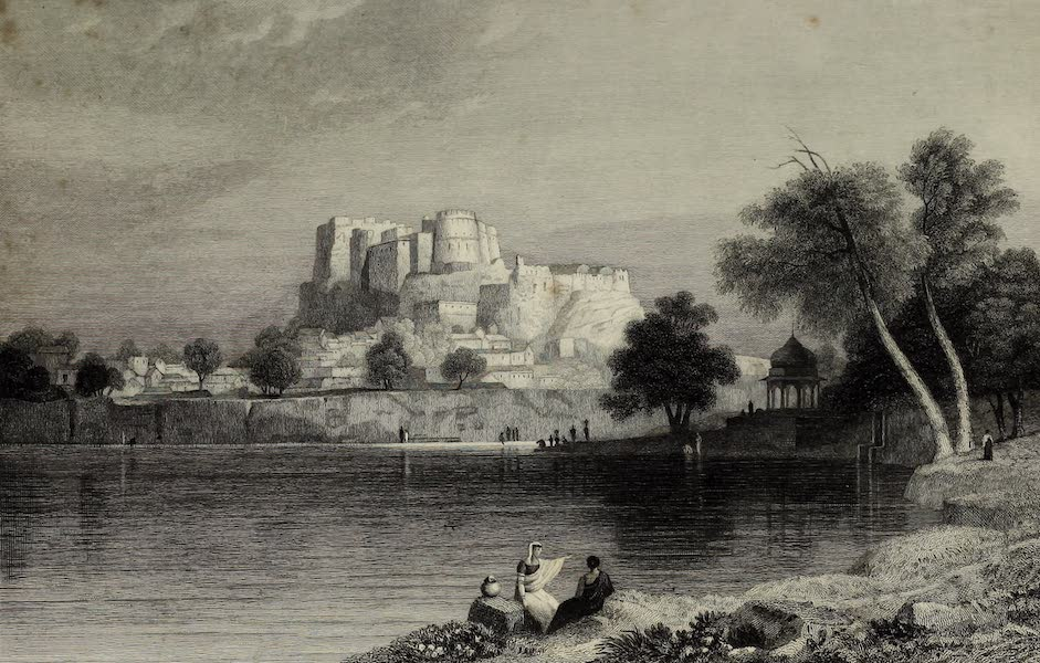 Views in India, China, and on the Shores of the Red Sea - Shuhur Jeypore (1835)