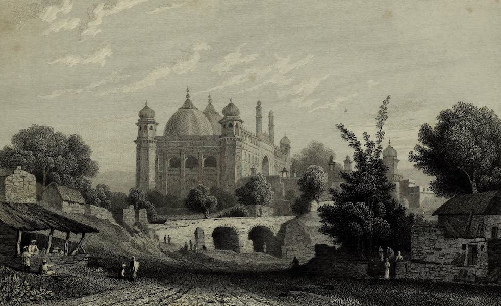 Views in India, China, and on the Shores of the Red Sea - Jumma Musjid Agra (1835)