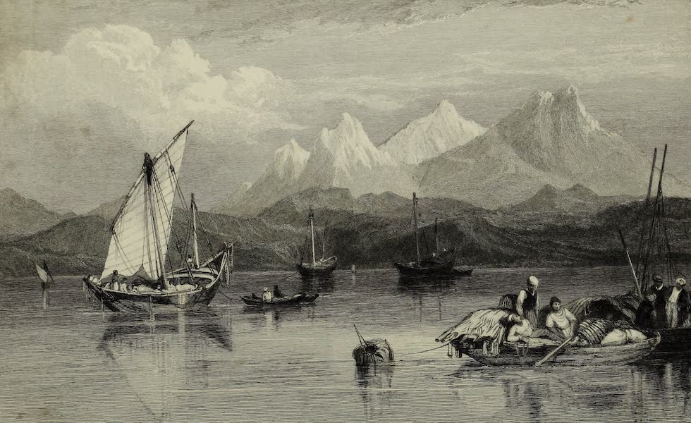 Views in India, China, and on the Shores of the Red Sea - El Wuish, Red Sea (1835)