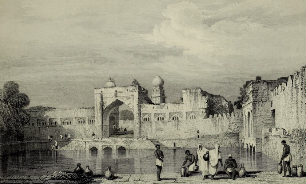 Views in India, China, and on the Shores of the Red Sea - Taj Bowlee, Bejapore (1835)
