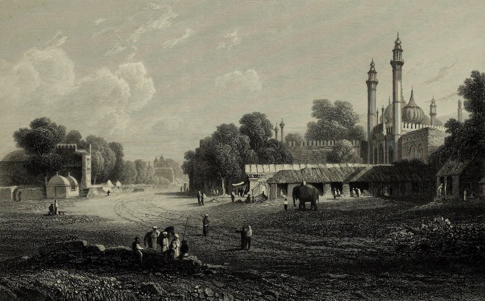 Views in India, China, and on the Shores of the Red Sea - Delhi (1835)