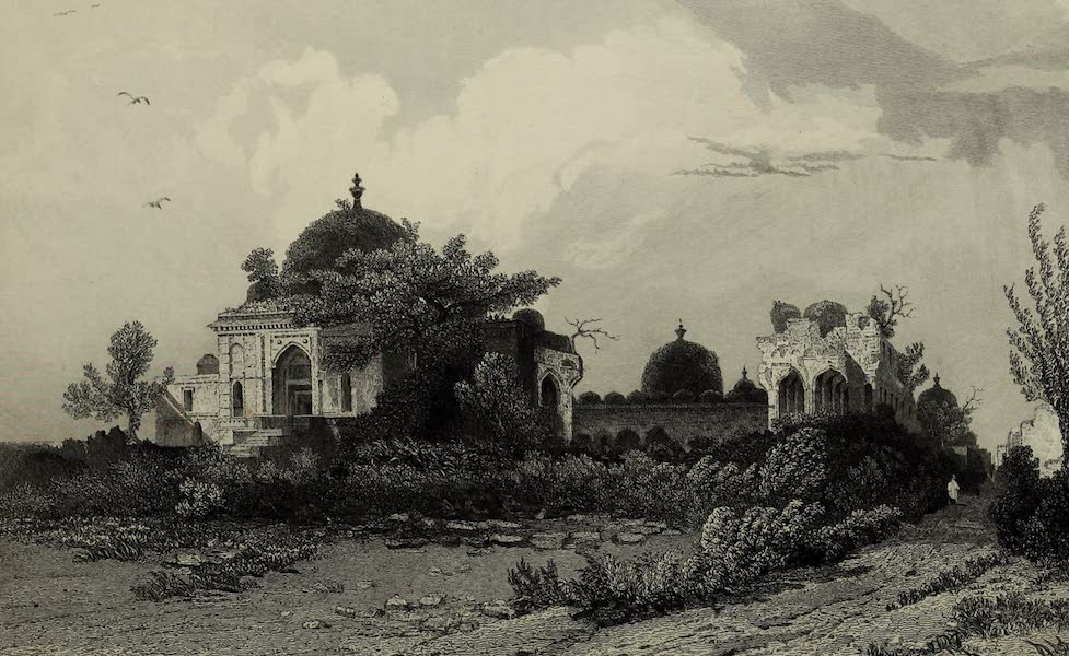 Views in India, China, and on the Shores of the Red Sea - Jumma Musjid, Mandoo (1835)