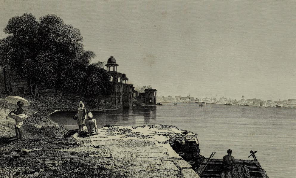 Views in India, China, and on the Shores of the Red Sea - Jahara Baug, Agra (1835)